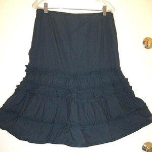 Ruffle Summer Fun Skirt Sz 10P